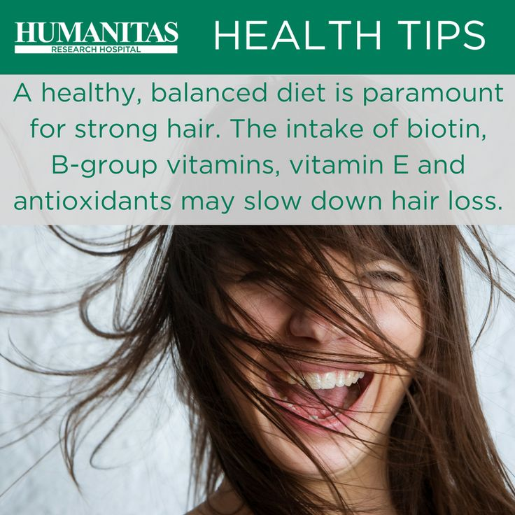 As is the case with organs, hair need vitamins and trace elements in order to become strong and healthy.