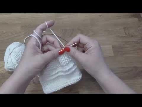 Kurz pletení 5. díl, jak se plete pružný patent - YouTube