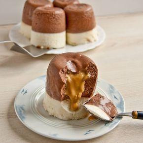 Mini serniczki na zimno z karmelem przepis - zjem to blog kulinarny