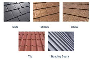 Impressive Metal Roof Types #1 Metal Roofing Types