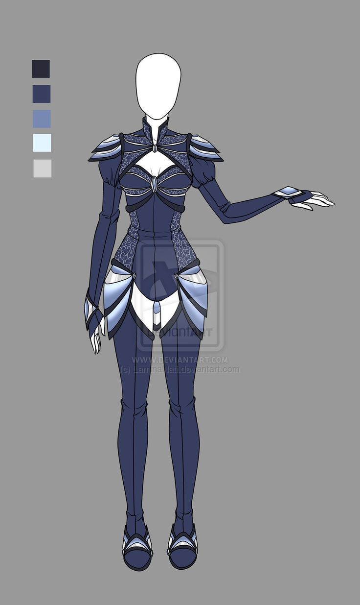 Adoptable outfit 1(closed) by LaminaNati on DeviantArt