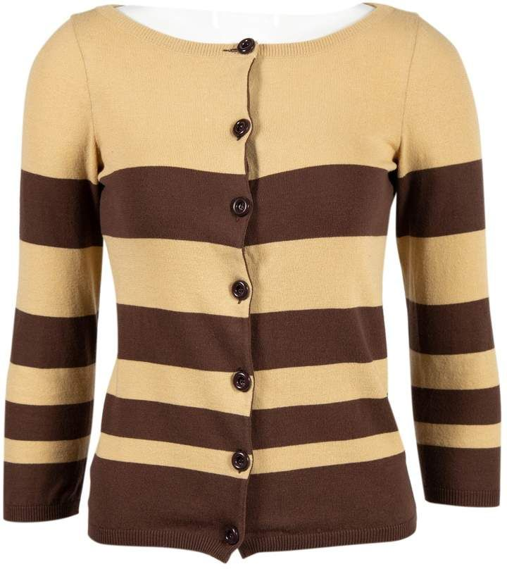 Moschino Cheap & Chic Moschino Cheap And Chic Brown Cotton