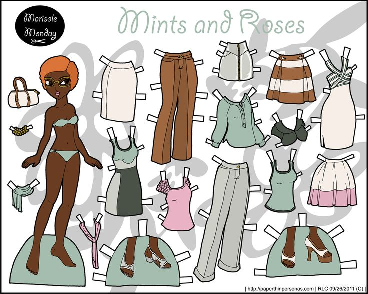 marisole-mint-roses-paper-doll.png (1500×1200)
