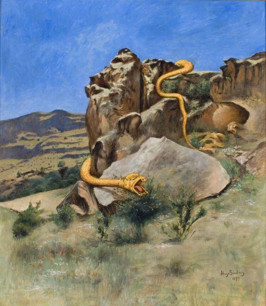 Hugo Simberg: The Snake