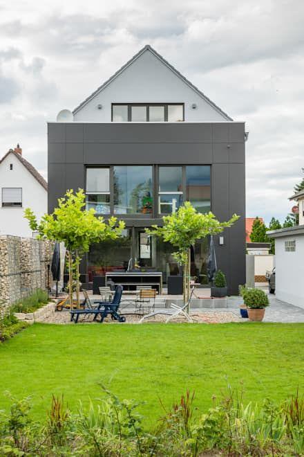 Box House - Einfamilienwohnhaus, Lorsch: moderner Garten von Helwig Haus und Raum Planungs GmbH