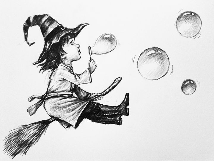 Little witches - HendriArt