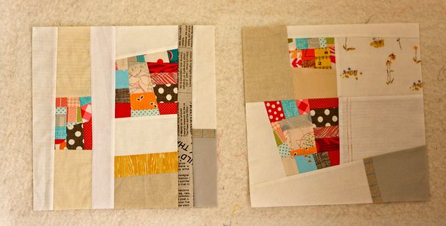 Great way to up those little scraps of fabric you can't bear to throw out!