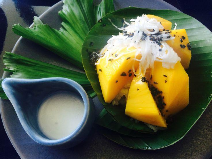 #mango sticky rice