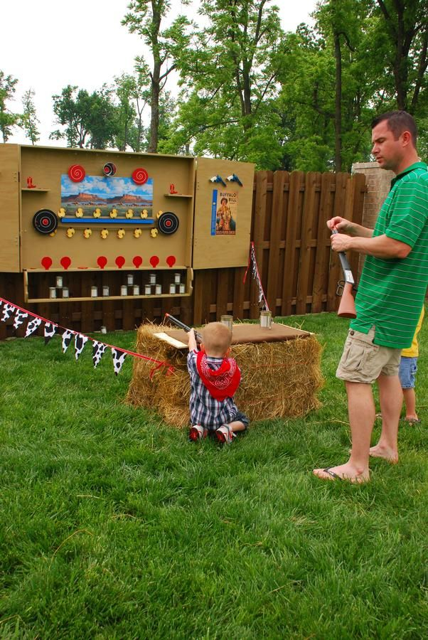 Dart gun shooting gallery! Umm I don't need a child. I want one for myself.