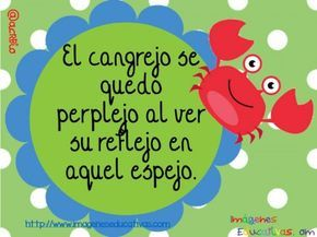 Tongue twisters for learning animals in Spanish. Trabalenguas de animales (4)