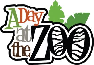 A Day at the Zoo SVG scrapbook title svg files for scrapbooking cardmaking cute svg cuts for scrapbooks