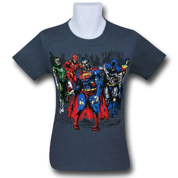 DC Superhero Zombies T-Shirt $19.99