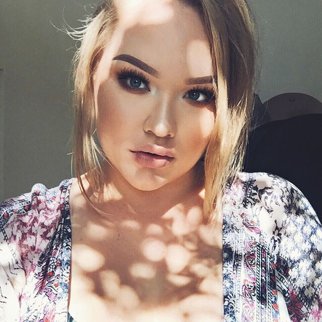 when your makeup is so on point, you look angelic @nikkietutorials