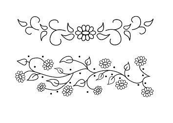 flores para bordar - Buscar con Google