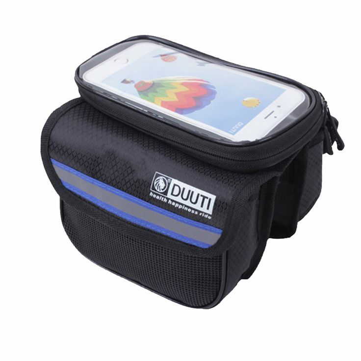 5L Rainproof Reflective Bicycle Bags Touchable Screen Cycling Bike Frame Bags Holder Pannier Phone Bag Bicycle Accessories C0006 -*- AliExpress Affiliate's buyable pin. Item can be found on www.aliexpress.com by clicking the VISIT button #PhoneHolders