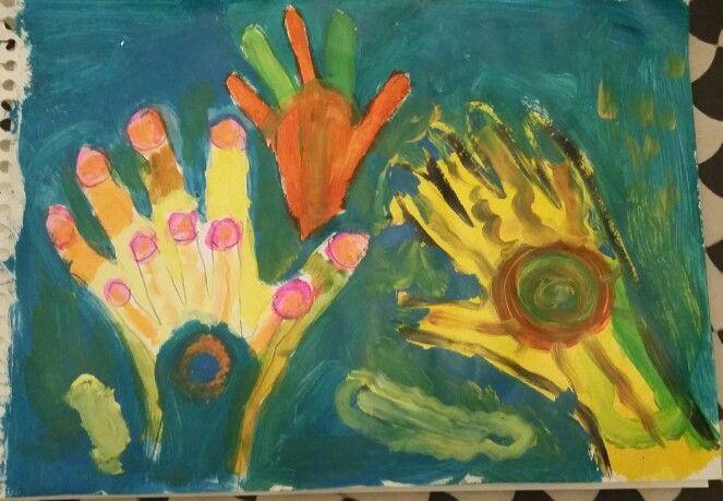 Hand in hand (6.5yo)