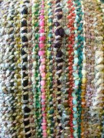 Close - up van dit kleurrijke plaid