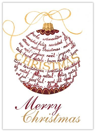 33 best christmas cards for office images on pinterest christmas merry christmas ornament m4hsunfo