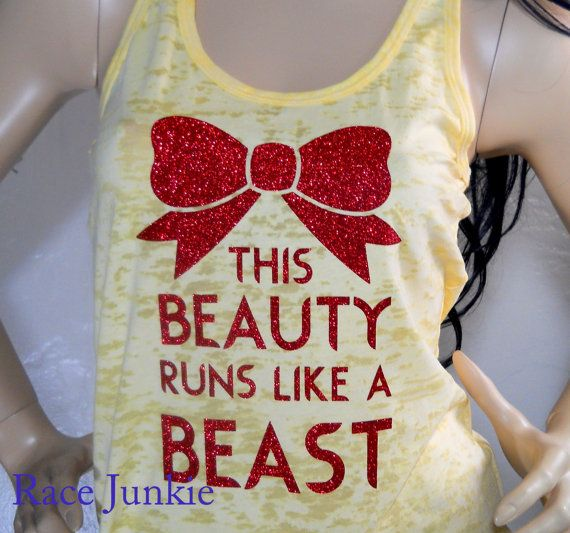 Disney Tanks and Tees to Get Your Fitness On Like a Princess