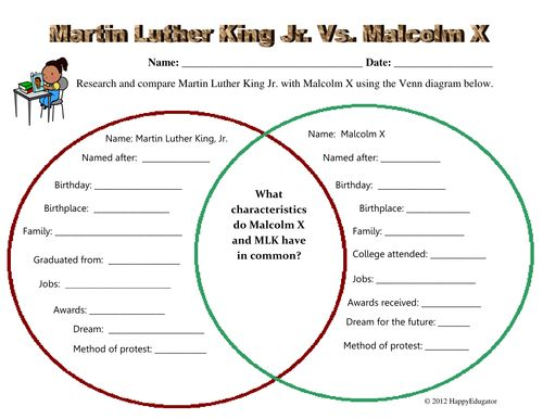 a comparison of the lives and ideologies of martin luther king jr and malcolm x Malcolm x essay examples  comparing the lives of martin luther king jr and malcolm x  a comparison of malcolm x and martin luther king.