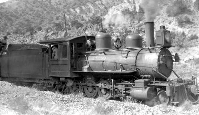 The Chili Line was part of the Denver & Rio Grande Western Railroad and it was unusual because it had narrow-gauge tracks.