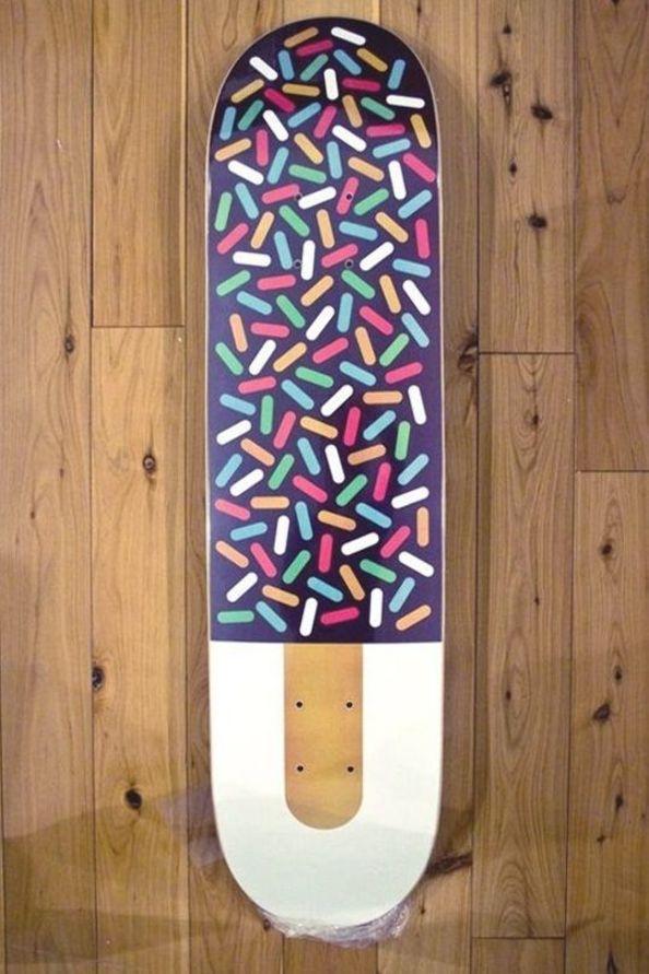 Pin Pada Skateboard Art
