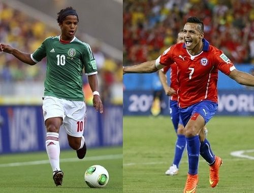 Watch Chile v Mexico live soccer match streaming and telecast online on 15 June, 2015 from 20:30 local time. Get Mexico vs Chile match preview & prediction.