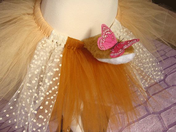 Bambi Butterfly Inspired Running Tutu by RunSillyOnEtsy on Etsy, $32.00