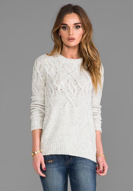 LINE The Funday in Cream - Sweaters & Knits