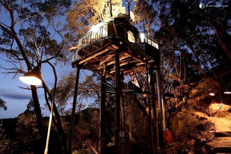 Luxury Tree House Australia  #New #South #Wales #Australia #NSW #Travel #Adventure #Explore #Destinations #Discover #Inspiration #Tent #Glamping #Sydney