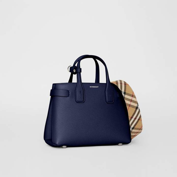 c2fa4ec2178 Burberry The Small Banner in Leather and Vintage Check in 2019 ...