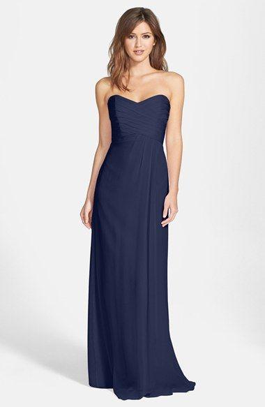 25  best ideas about Dark Blue Bridesmaid Dresses on Pinterest ...