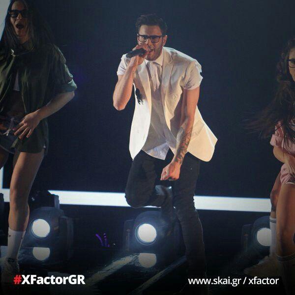 Ian X Factor Greece 💙💟👐