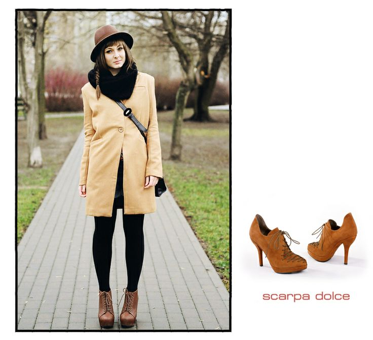 Perfect for the autumn waether - PacoGill brown ankle boots! :)