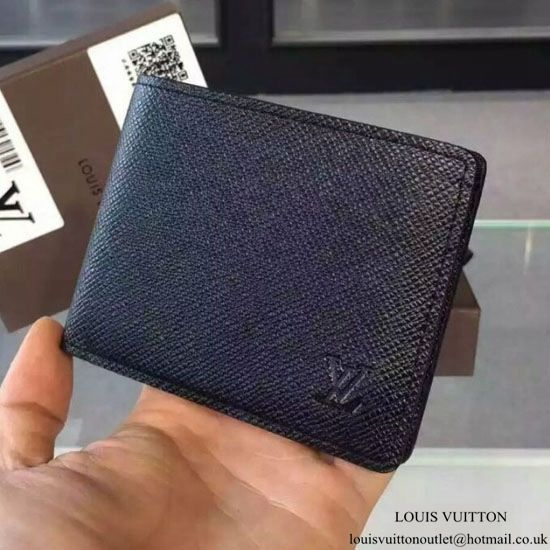 125eb9ba22b8 Louis Vuitton M30952 Multiple Wallet Taiga Leather