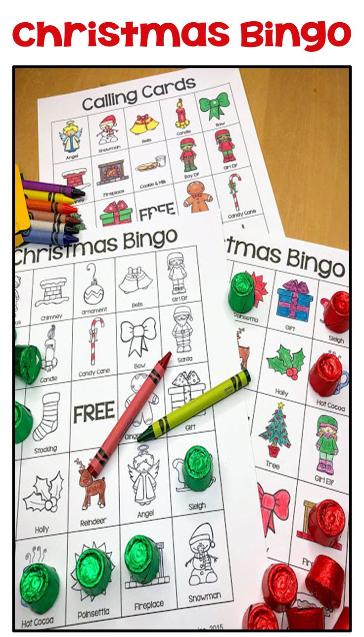 Christmas Bingo with 36 Unique Cards in Color and Black