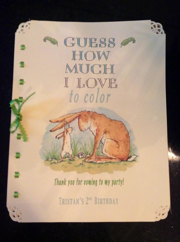 1000 images about guess how much i love two party on for Guess how much i love you coloring pages