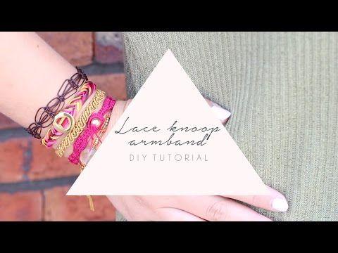 DIY TUTORIAL: Lace knoop armband van Macramé – zelf sieraden maken