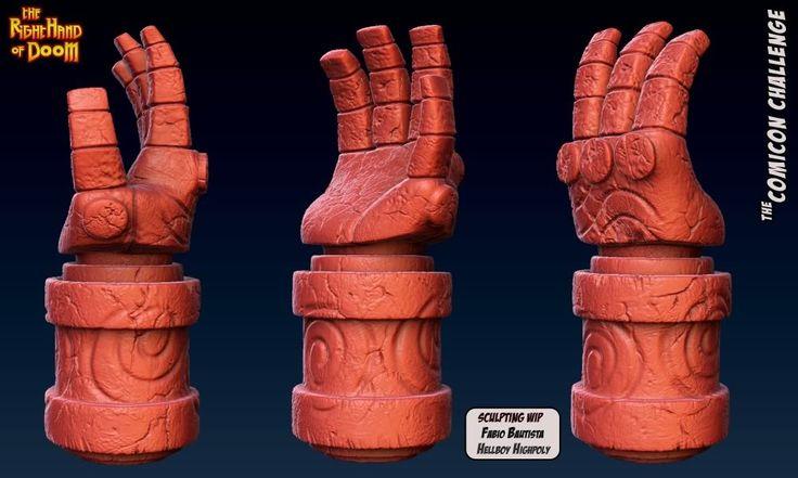 Hellboy Hand