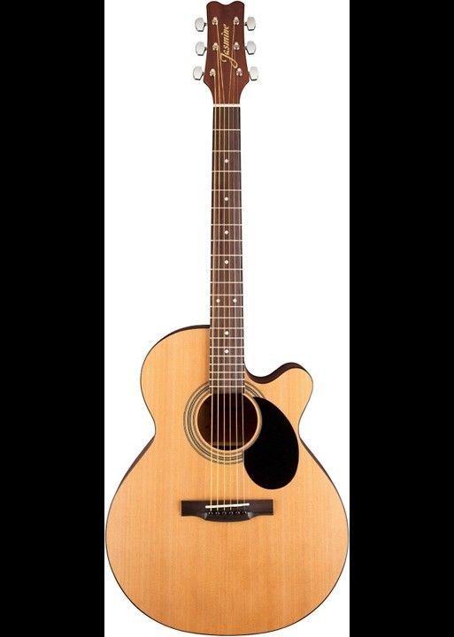 Guitar Jasmine S34c Cutaway Acoustic Guitar Natural Please Retweet Acoustic Guitar For Sale Guitar Guitars For Sale