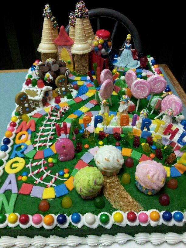 Candy Land cake I made