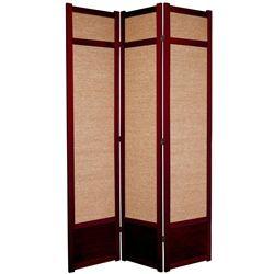 tall jute shoji room divider screen more panels u0026 finishes