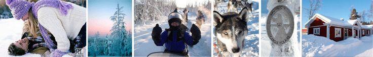 Nouvel an entre amis en laponie suédoise du 28 décembre au 03 janvier 2014