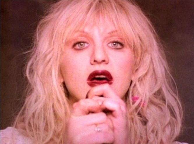"Courtney Love in ""Violet"", Magnetic Makeup"