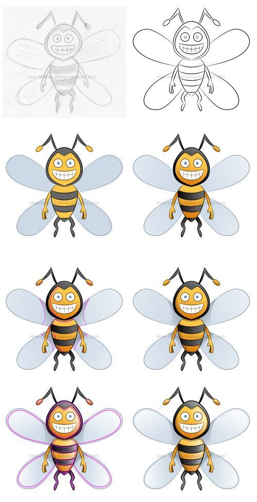 How to draw a simple cartoon bee.   This lesson is also available on Youtube: https://www.youtube.com/watch?v=-XIw3hqM25k&t=158s    #howtodraw #cartoonbee #bee #howtodrawabee #drawinglessons