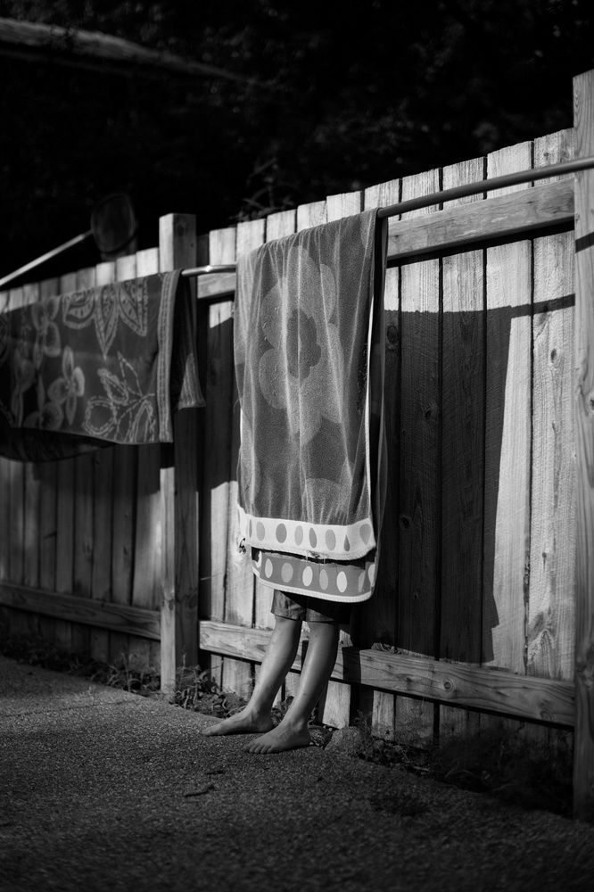 In the footsteps of Sally Mann and Emmett Gowin—honest, touching portraits of a childhood spent amidst the simple beauty of nature in the Midwest