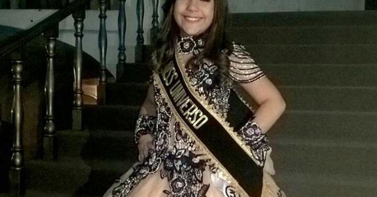Brasileira vence concurso Mini Miss Universo no Peru: 'Realizei um sonho'