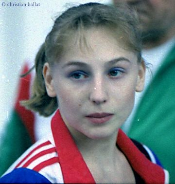 Simona Amanar (Romania) - now retired, multiple Olympic and World champion gymnast who first landed the 2.5 laid-out-twist vault that now bears her name - the Amanar is still one of the most difficult vaults for female gymnasts to complete and so carries a huge point total for competition