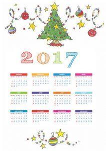 2017-calender-craft-for-kids | Crafts and Worksheets for Preschool,Toddler and Kindergarten
