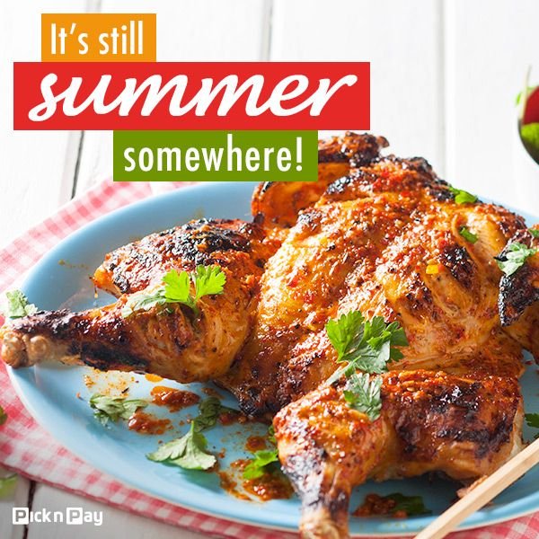 Light the last of the #summer coals and toast the changing leaves. #dailydish #picknpay #freshliving